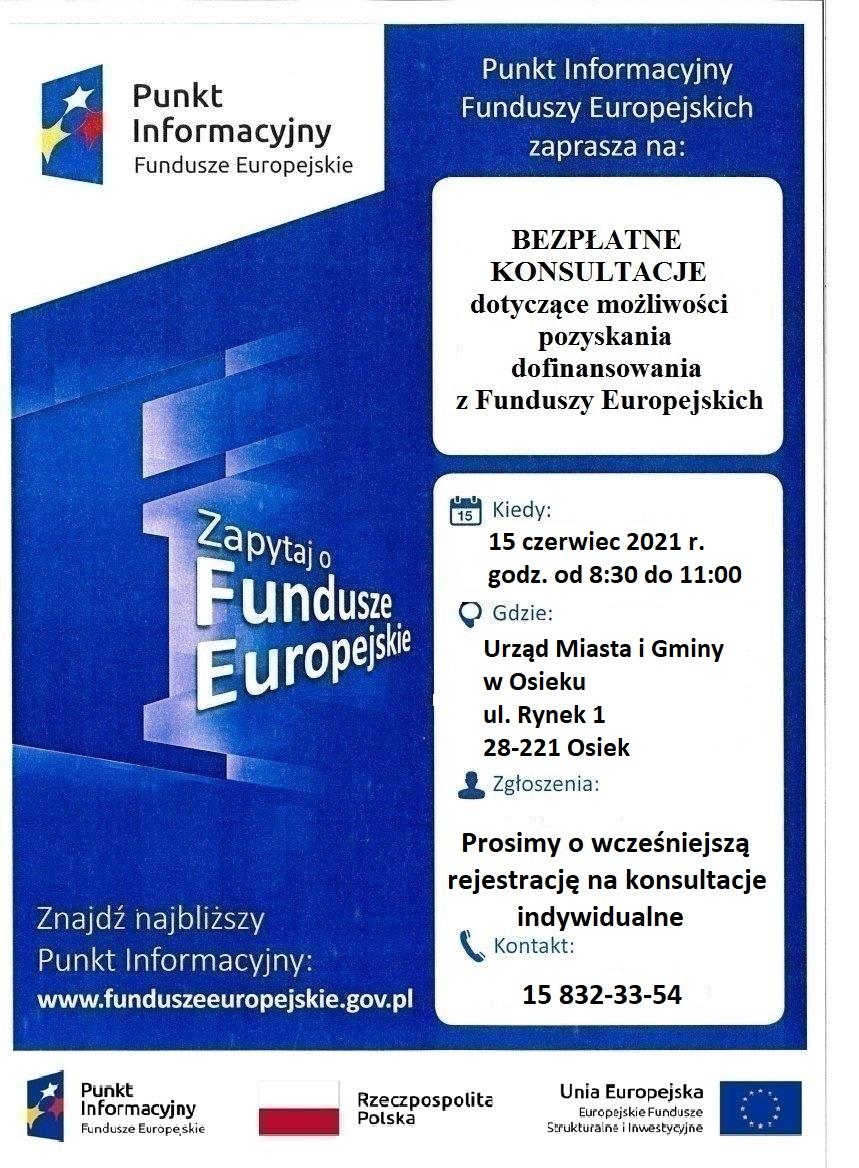 Plakat Informacyjny MPI Osiek