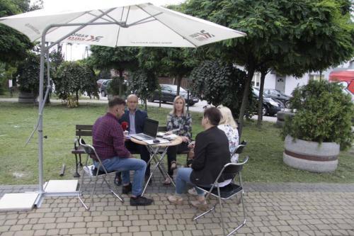 Radio Kielce z wizytą w Osieku