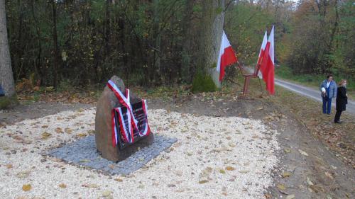 uroczysto odsonicia obelisku w lesie turskim 2 20161110 1276226926