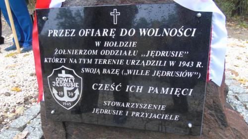 uroczysto odsonicia obelisku w lesie turskim 3 20161110 2005235352